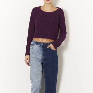 🔥FIRE SALE🔥 Topshop Knitted Crop Sweater
